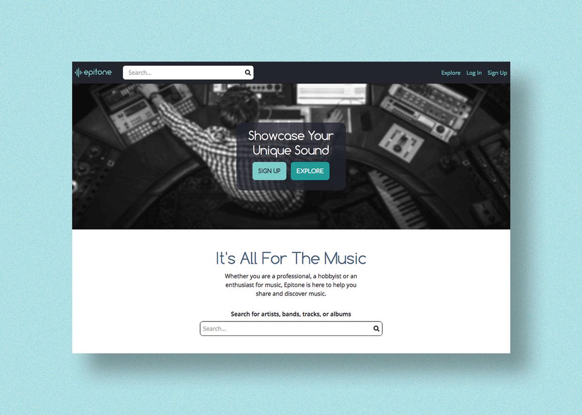 Epitone Homepage