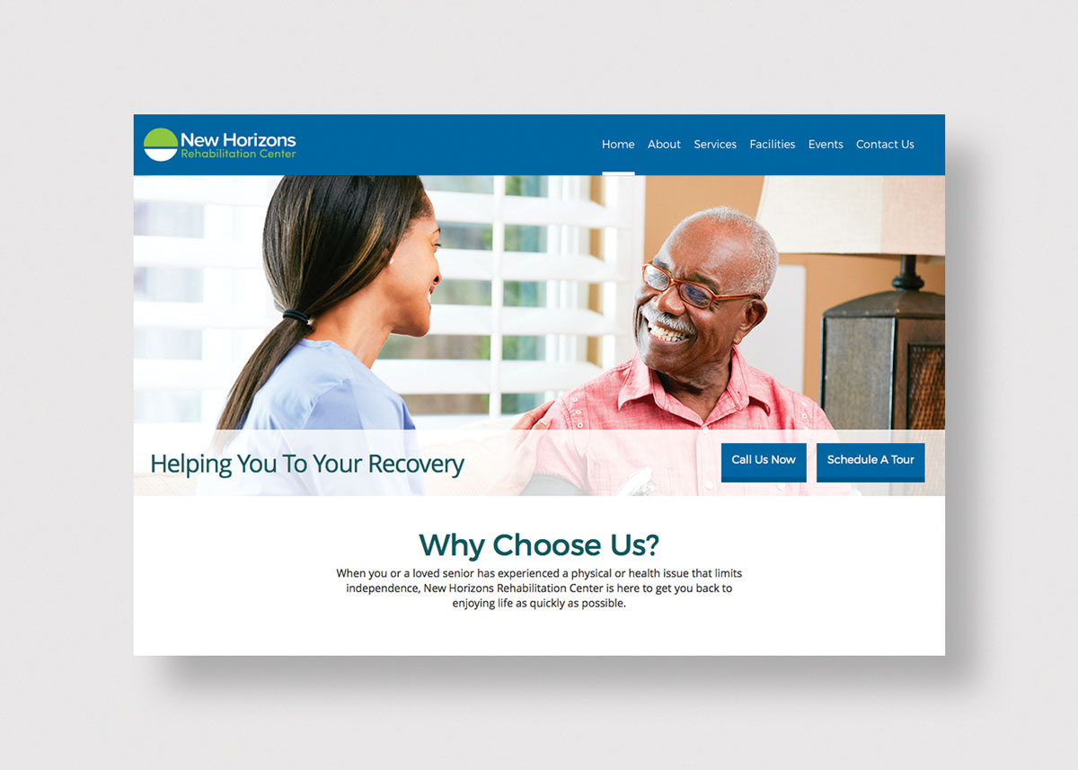 New Horizons home page